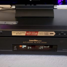 Laserdisc-Player Sony-MDP850D Fragen zu Problemen